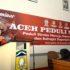 BUKA SEMINAR - Bupati Aceh Besar Mukhlis Basyah SSos membuka Seminar Aceh Peduli Stroke di Aula HT Bachtiar Panglima Polem Kota Jantho, Rabu (16/11/2016).