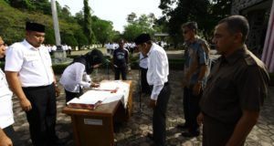 Penandtanganan Sumpah PNS Aceh Besar