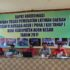 Ketua Umum KONI Aceh Besar Saifuddin Yahya SE memberikan arahan pada Rapat Koordinasi Satuan Tugas Pemusatan Latihan Daerah PORA ke-13 Tahap I di Gedung KONI Aceh Besar, Sabtu (29/7/2017)
